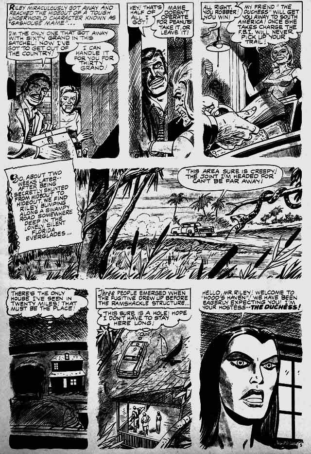 Swamp Monsters, page two