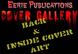 Eerie Pubs Cover Gallery - Back and Inside Cover Art